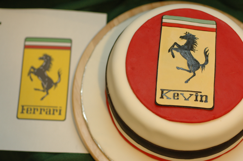 Birthday Cake Images With Name Kevin : Ferrari Fabulous! Cakes by Caralin