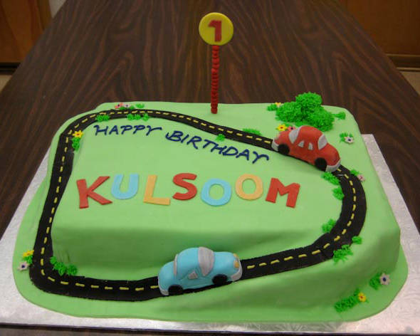 Birthday Cake Images With Car : Two Cute Car Cakes Cakes by Caralin