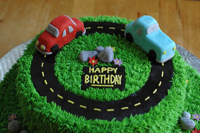 Birthday Cake For Car ~ Moved permanently