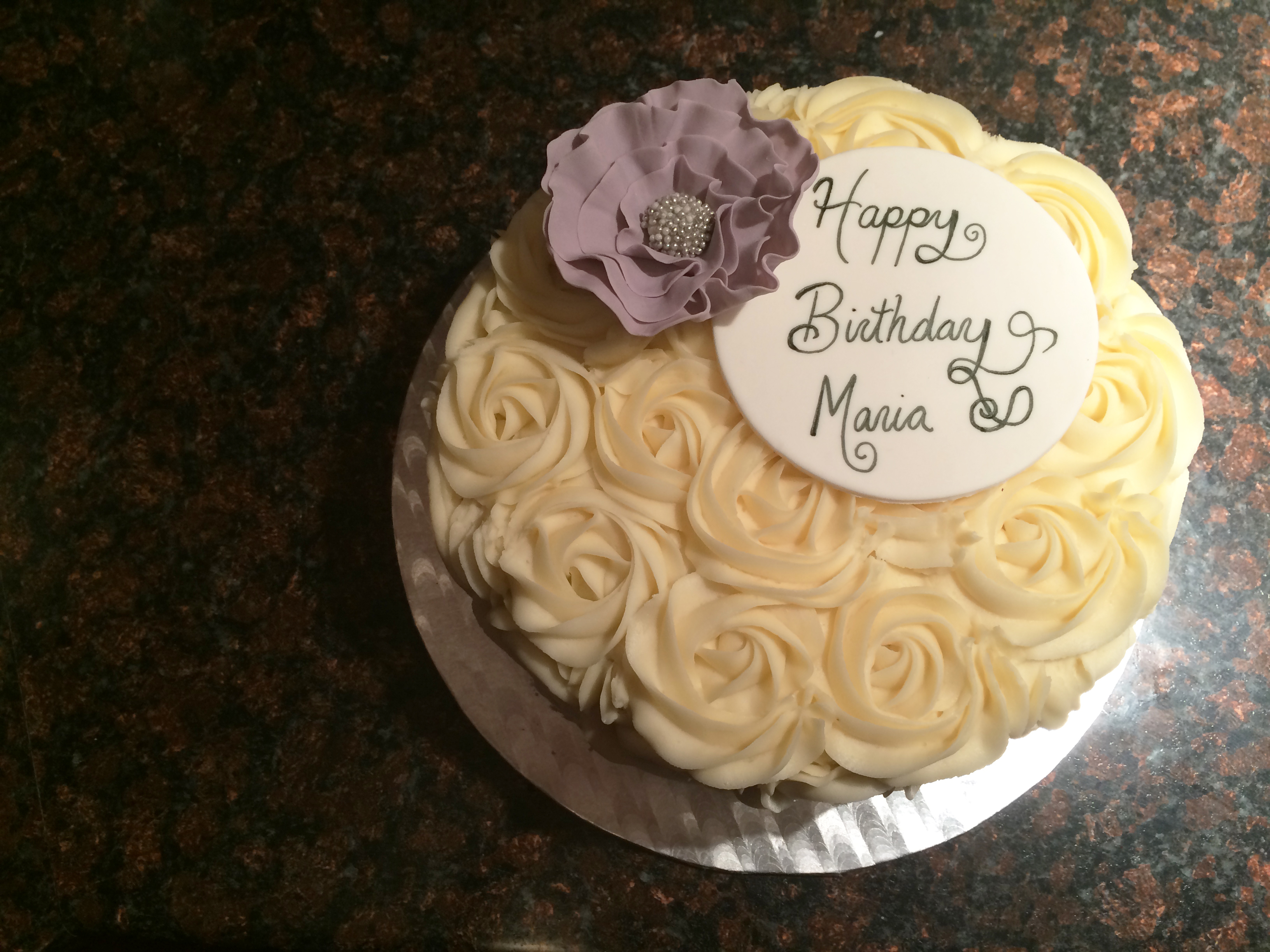 rosette cakes pictures