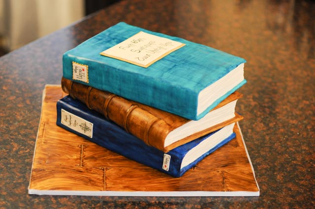 Awesome Birthday Book Cake Cakes By Caralin Personalised Birthday Cards Xaembasilily Jamesorg