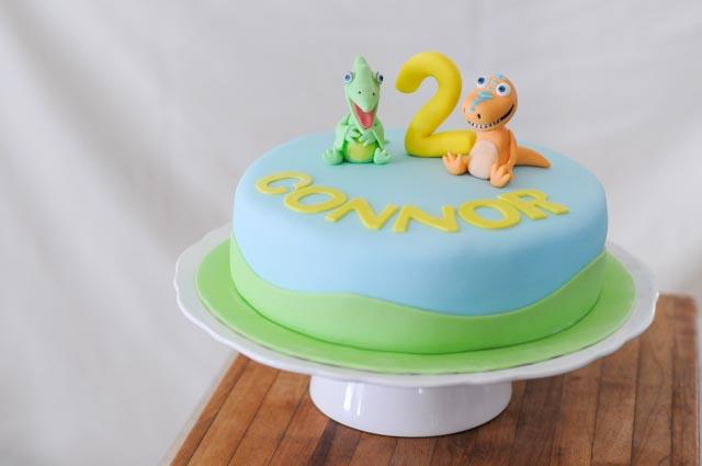 Sensational Dinosaur Train Cakes By Caralin Personalised Birthday Cards Veneteletsinfo
