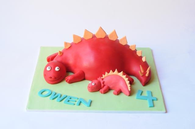 Stegosaurus Dino Cake