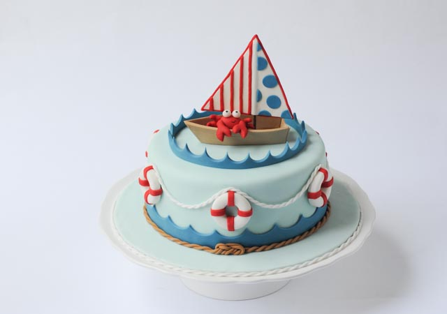 nautical baby shower cake cakes by caralin
