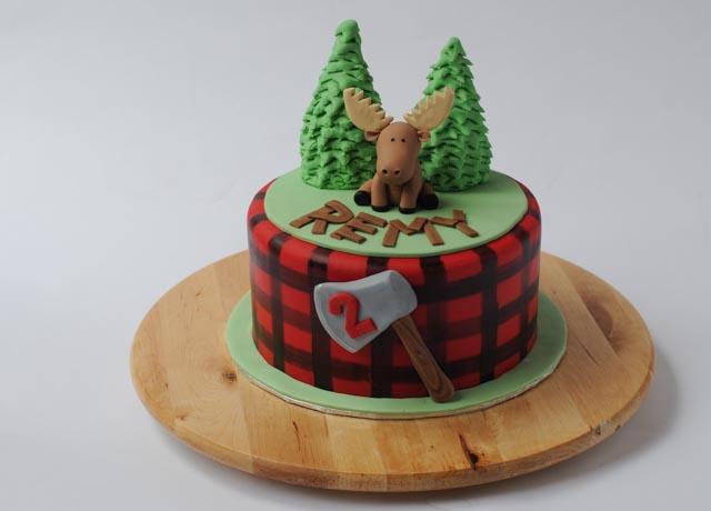 Fine Canadiana Moose Cake Cakes By Caralin Funny Birthday Cards Online Overcheapnameinfo