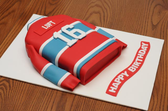 Habs  Birthday Cake