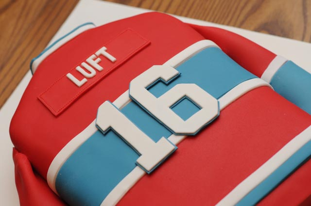 Montreal Canadiens Habs jersey cake