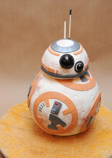 Star Wars Bb 8 Cake Cakes By Caralin